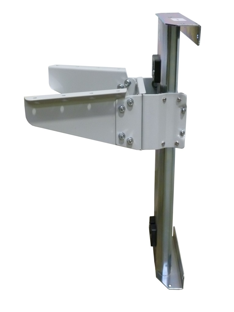 Horn Rear mounted air lifter side view